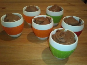 Rich chocolate icecream with protein